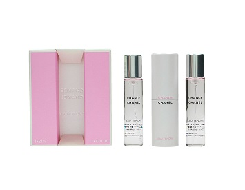 Chanel Chance Eau Tendre Twist and Spray Refillable EDT 20ml + 2 refills