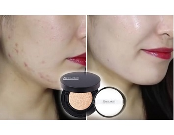 Phấn nước April Skin Magic Snow Cushion SPF 50++ PA+++ Màu 22 15g