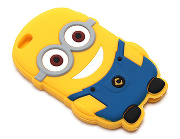 Ốp lưng iPhone 5/5s silicon Minions