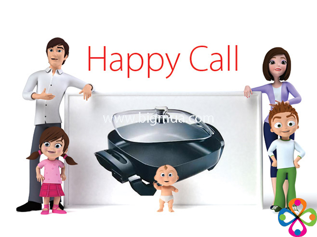 chảo happy call