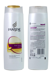Dầu gội PANTENE Pro-V Sheer Volume 400ml