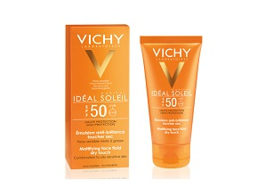 Kem Chống Nắng Vichy Capital Ideal Soleil SPF 50 Face Dry Touch 50ml
