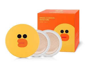 Phấn nước Missha Line Friends Magic Cushion Moisture SPF50+/PA+++ - Vịt Sally