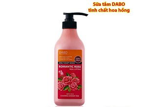 Sữa tắm Dabo Romantic Rose Daily Body Wash 750ml