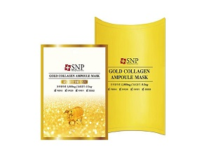 SNP Gold Collagen Ampoul Mask
