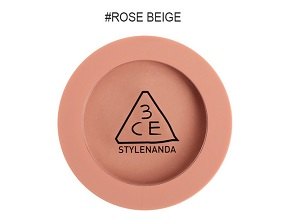 Phấn Má 3CE Mood Recipe Face Blush #Rose Beige