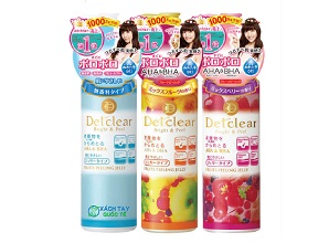 Tẩy tế bào chết Detclear Bright and Peel Peeling Jelly