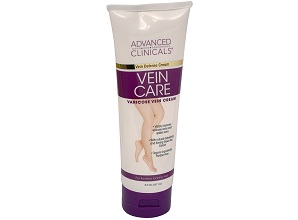 Kem trị giãn tĩnh mạch Advanced Clinicals Vein Care Varicose Veins 237ml