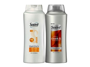 Bộ Gội Xả Suave Professionals Sleek & Smooth (2*828ml)