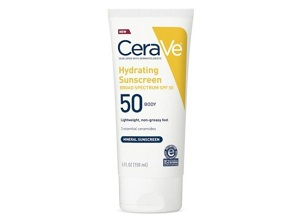 Kem chống nắng CeraVe Hydrating Sunscreen Body Lotion Broad Spectrum SPF 50 (150ml)