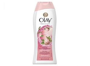 Sữa tắm OLAY Fresh Outlast Cooling White Strawberry and Mint (400ml)