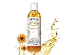 Nước cân bằng Kiehl's Calendula Herbal Extract Toner Alcohol-free (250ml)